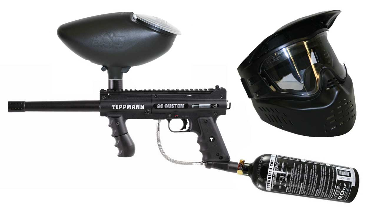 Equipment Rental Yankee Paintball